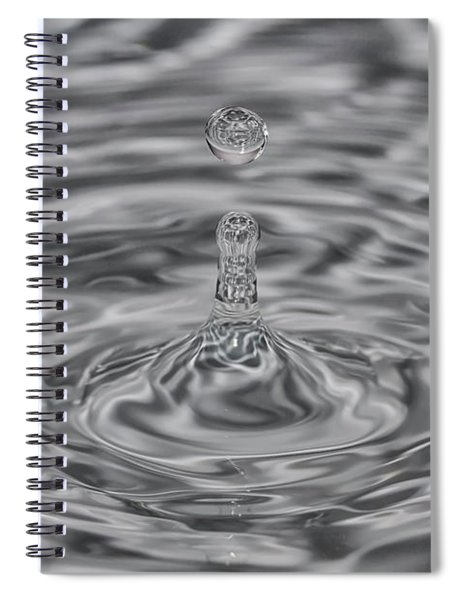 Drops 3 Spiral Notebook