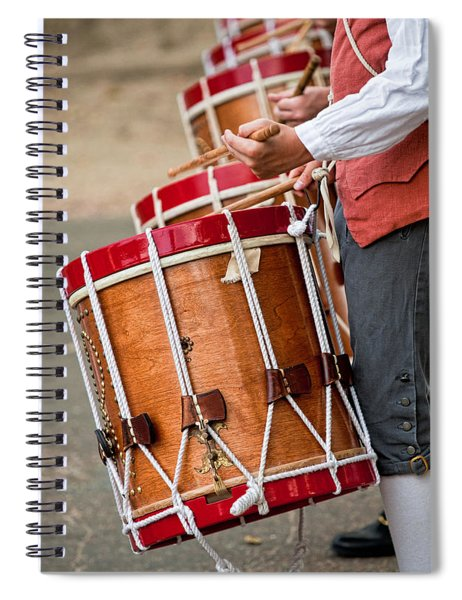 Drums Of The Revolution Spiral Notebook