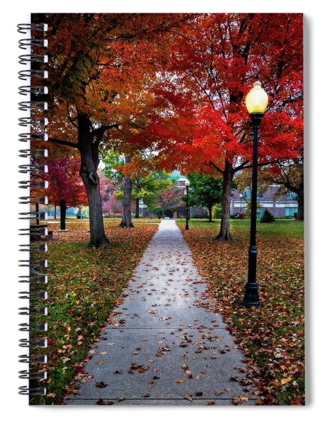Drury Fall Spiral Notebook