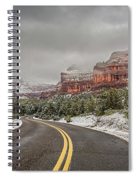 Boynton Canyon Road Spiral Notebook