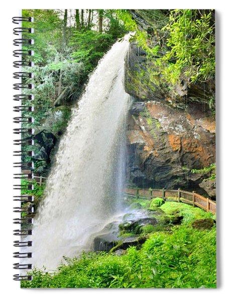 Dry Falls Highlands North Carolina 2 Spiral Notebook