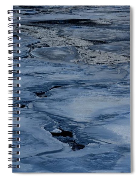 Dry Fork Freeze Spiral Notebook