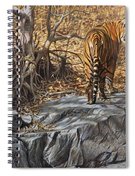 Dry, Hot And Irritable Spiral Notebook