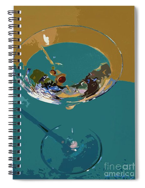 Dry Martini Spiral Notebook