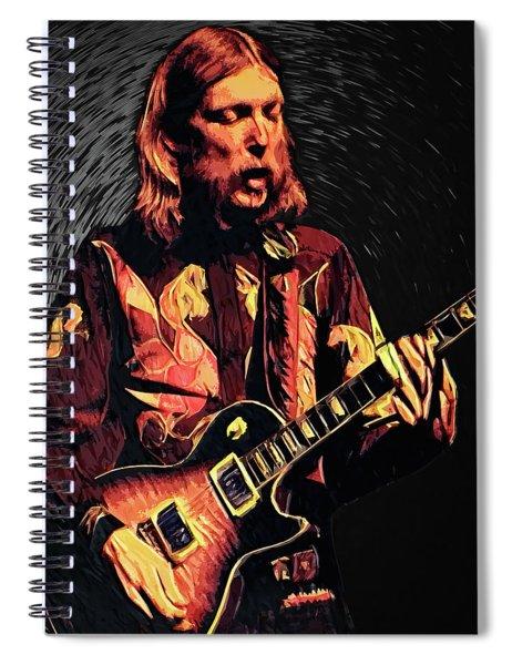 Duane Allman Spiral Notebook