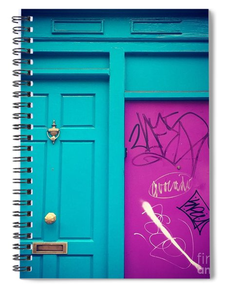 Dublin, Ireland Door Spiral Notebook