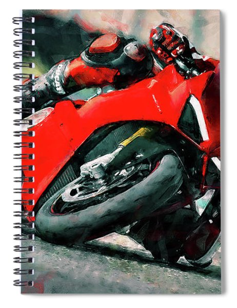 Ducati Panigale V4 - 01 Spiral Notebook