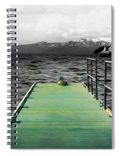 Duck, Duck, Dock Spiral Notebook