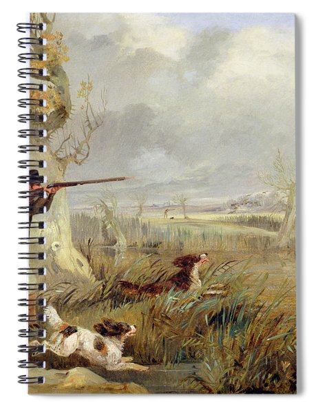 Duck Shooting  Spiral Notebook