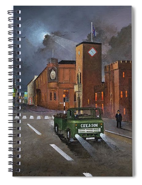 Dudley, Capital Of The Black Country Spiral Notebook