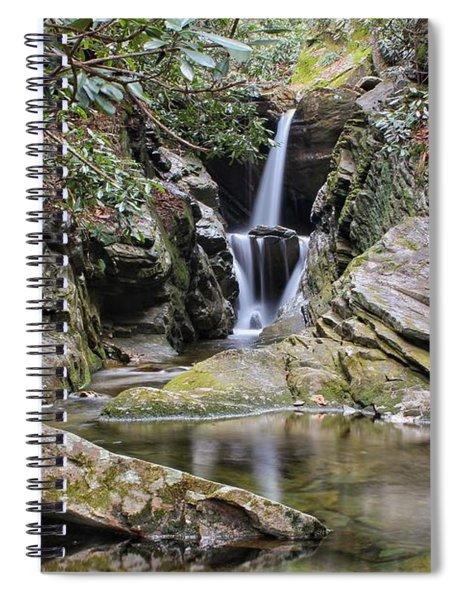 Duggers Creek Falls Spiral Notebook
