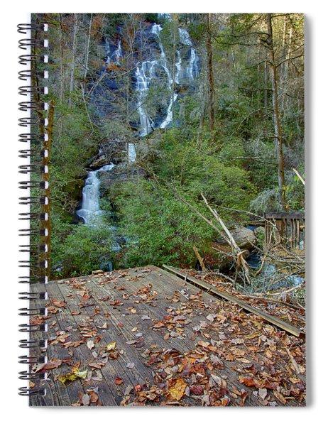 Dukes Creek Falls 2 Spiral Notebook