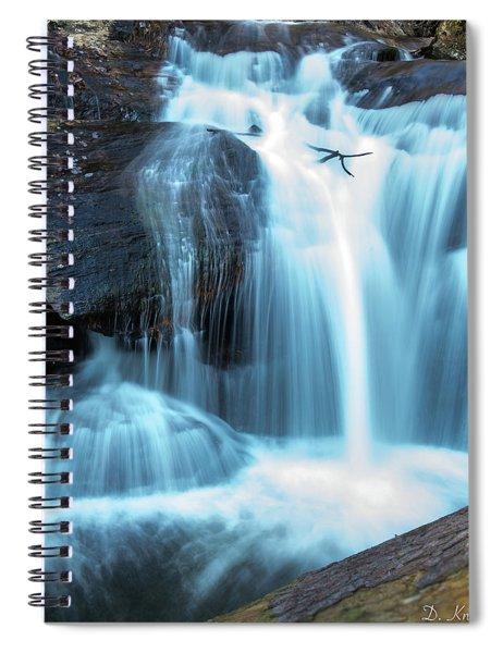 Dukes Creek Falls 3 Spiral Notebook