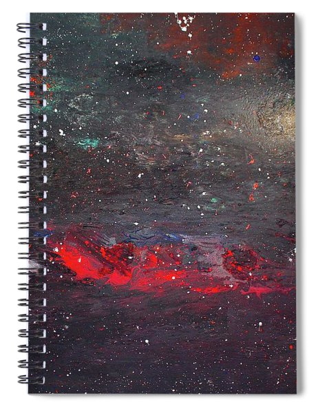 Spiral Notebook featuring the painting Dulaity by Michael Lucarelli