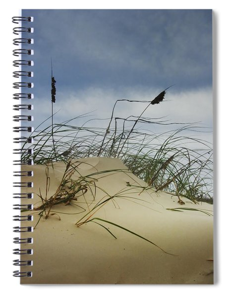 Dune And Beach Grass Spiral Notebook
