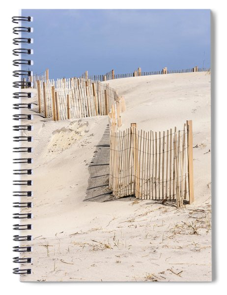 Dune Fence Portrait Spiral Notebook