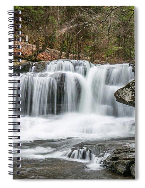 Dunloup Creek Falls Spiral Notebook