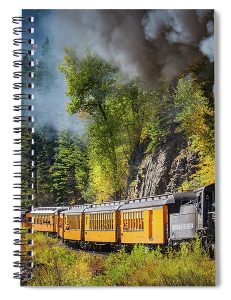 Durango-silverton Narrow Gauge Railroad Spiral Notebook