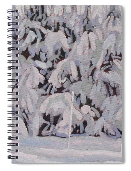 During The Storm Spiral Notebook