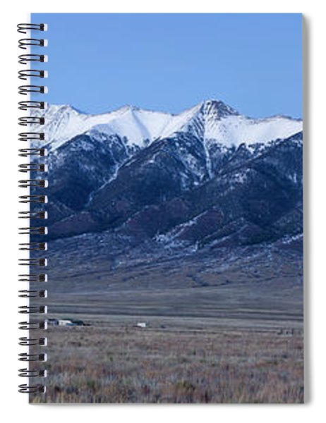Dusk At The Sangre De Cristo Mountains Spiral Notebook