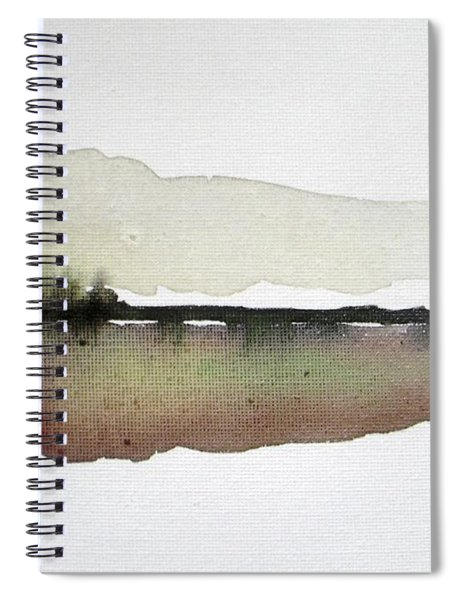 Dusk Silence Spiral Notebook by Vesna Antic
