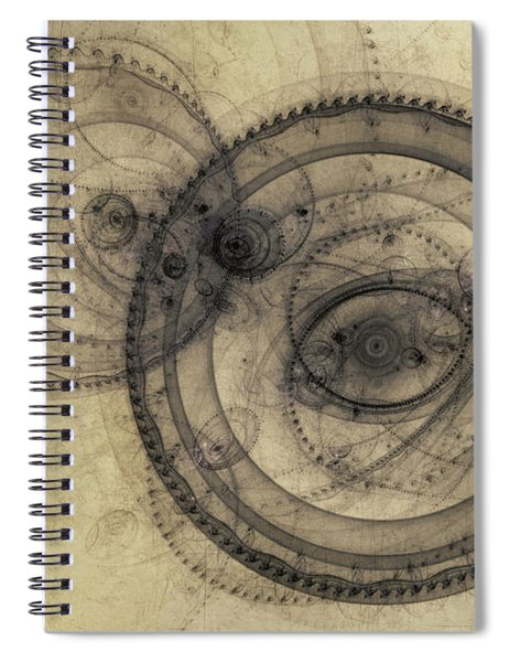 Dust Off The Clock Spiral Notebook