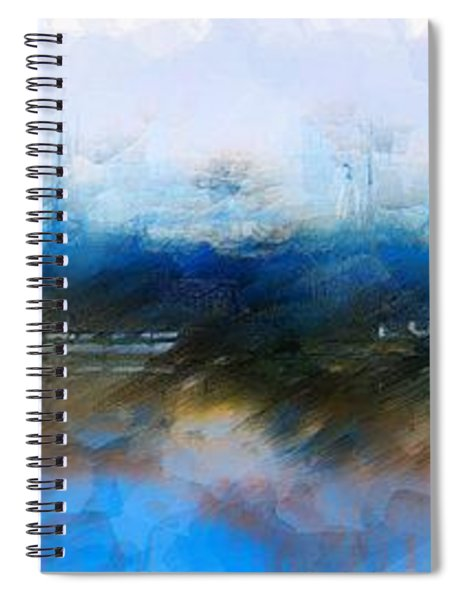 Dusted Shremp Creek Spiral Notebook