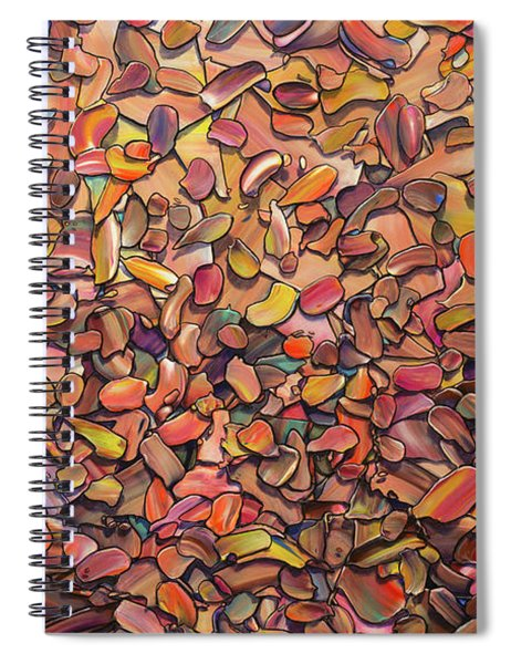 Duststorm Spiral Notebook by James W Johnson