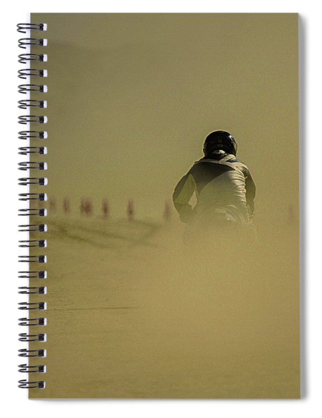 Dusty Exit Spiral Notebook