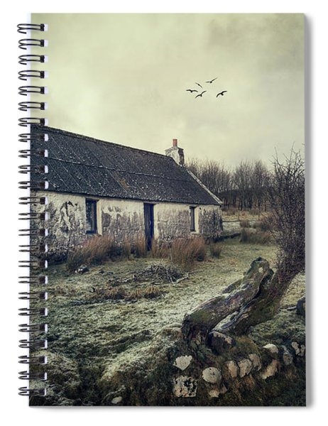 Dusty Morning Spiral Notebook
