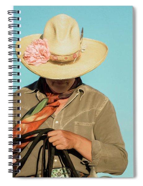 Dusty Rose Spiral Notebook