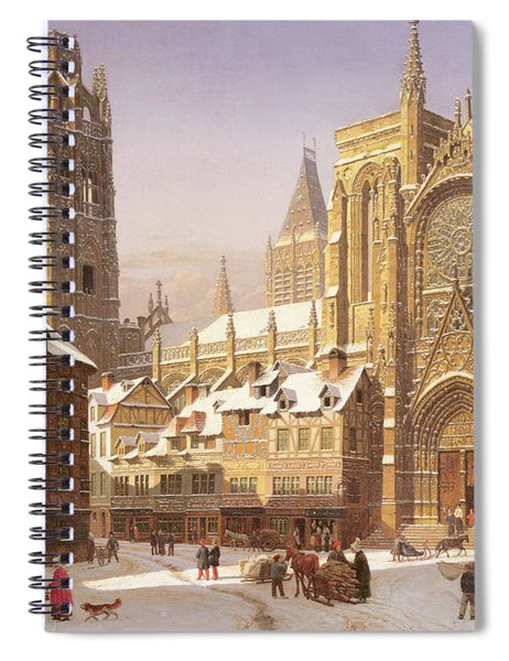 Dutch Cathedral Town Spiral Notebook