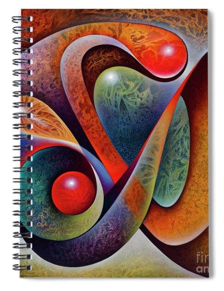 Dynamic Mantis Spiral Notebook