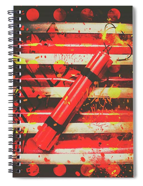 Dynamite Artwork Spiral Notebook