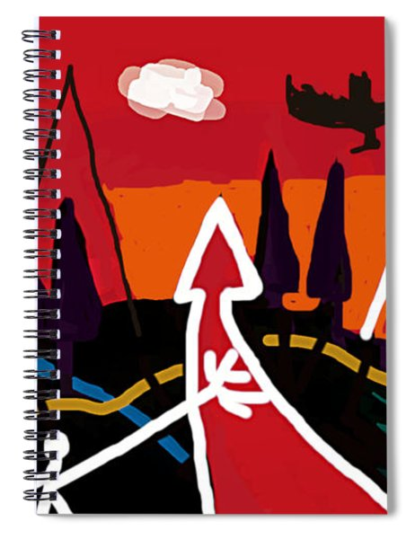 Dystopian Nite  Spiral Notebook