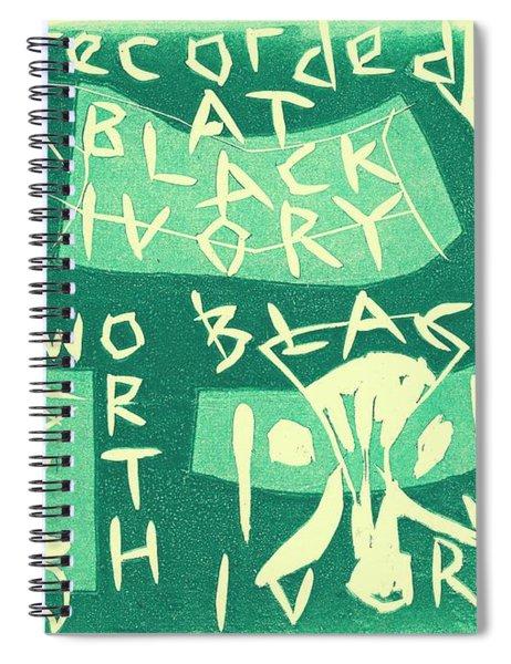 E Cd Green Spiral Notebook