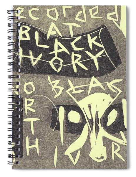 E Cd Grey Spiral Notebook