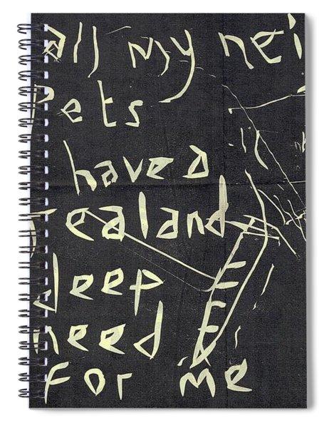E Cd Main Reverse Spiral Notebook