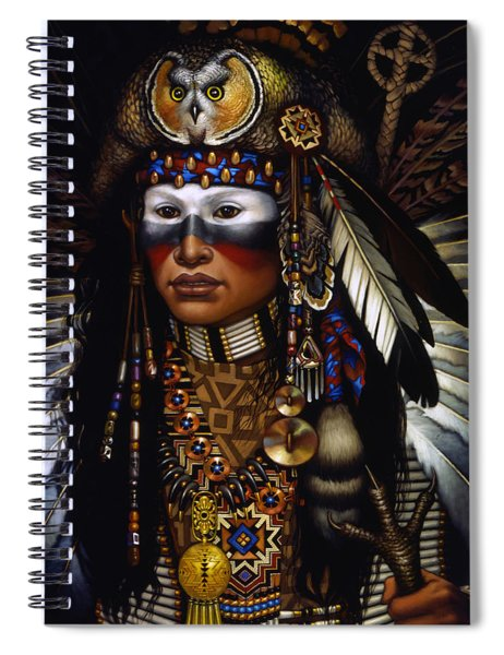 Eagle Claw Spiral Notebook