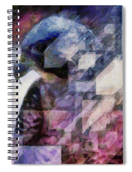 Eagle Contemplative  Spiral Notebook