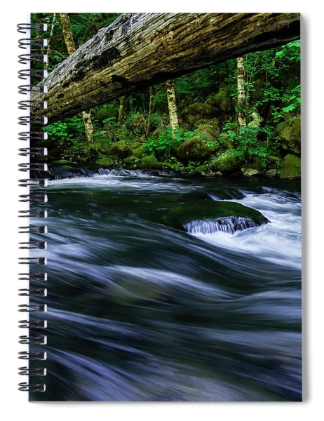 Eagle Creek Rapids Spiral Notebook