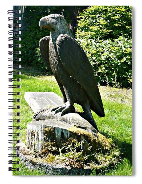Eagle Totem Spiral Notebook