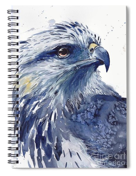 Eagle Watercolor Spiral Notebook