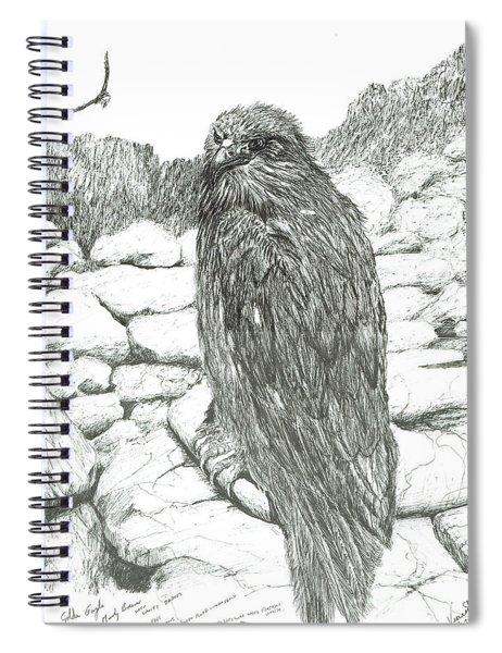 Eagles Of The Highlands Spiral Notebook