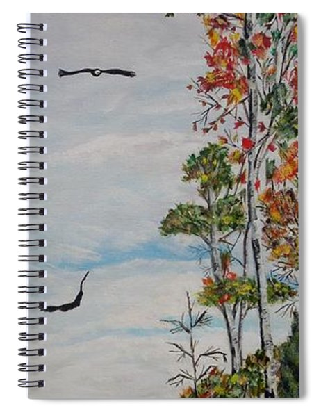 Eagles Point Spiral Notebook