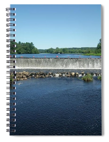 Eagleville Dam, Connecticut  Spiral Notebook