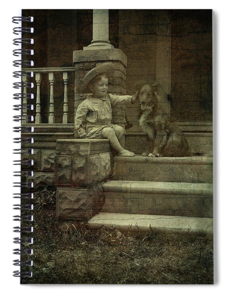 Ear Scratch And Straw Hat Spiral Notebook