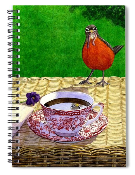 Early Bird Spiral Notebook