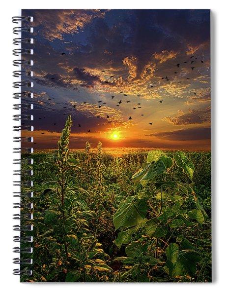 Early Bird Special Spiral Notebook