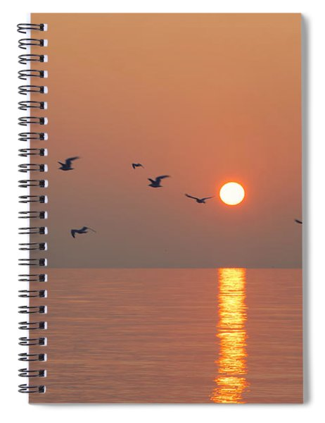 Early Birds Spiral Notebook